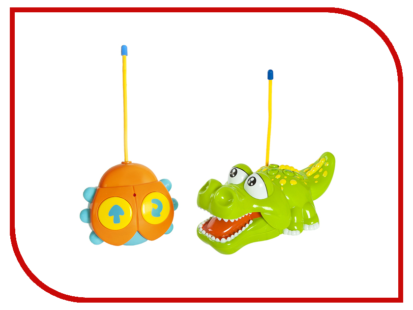Игрушка Жирафики Крокодильчик 939504 жирафики игрушка мягкая жираф жирафики