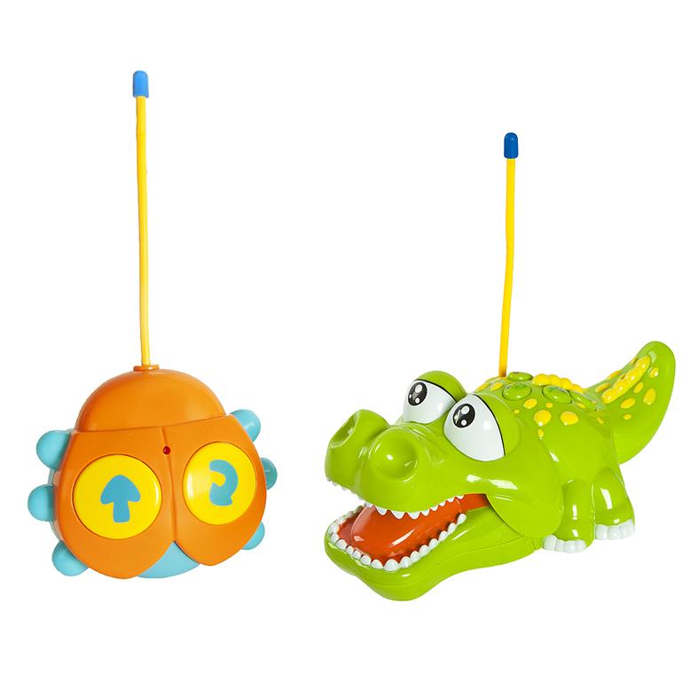 Игрушка Жирафики Крокодильчик 939504 жирафики развивающая игрушка жирафики зайка с погремушкой