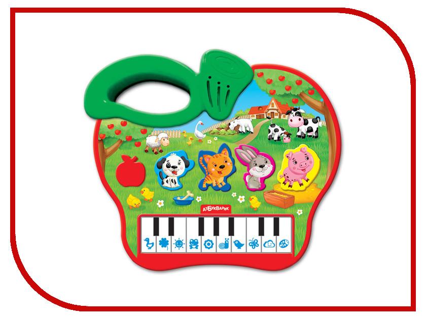 Детский музыкальный инструмент Азбукварик Яблочко 4680019282107