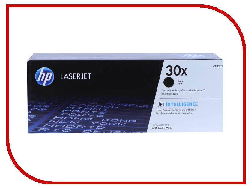 Картридж HP 30X CF230X Black для LJ Pro M203/M227 hewlett packard hp многофункциональная аппаратура для печати копии факса сканирования