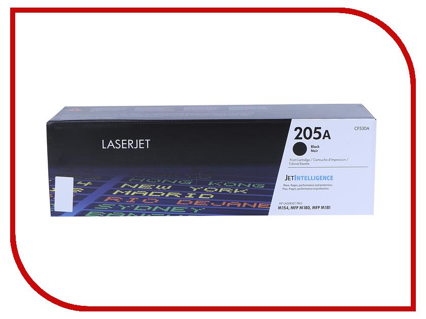 Картридж HP 205A CF530A Black для M180n/M181fw hewlett packard hp многофункциональная аппаратура для печати копии факса сканирования