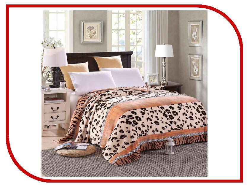 Плед Hongda Леопард 2x2.2m Beige 898322 плед hongda уют 1 5x2m beige 867112