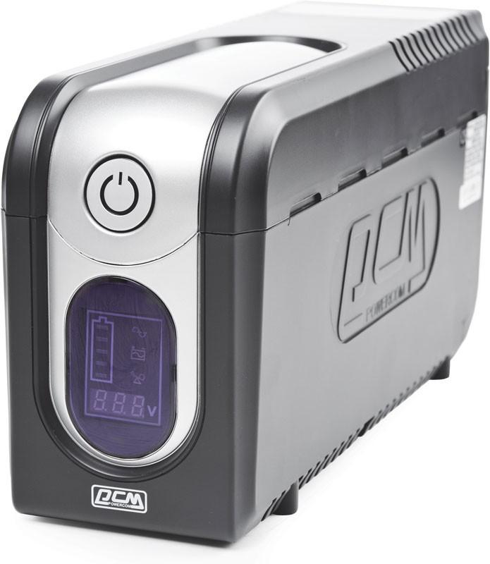 Источник бесперебойного питания Powercom Imperial IMD-825AP 495VA 825W Black цена
