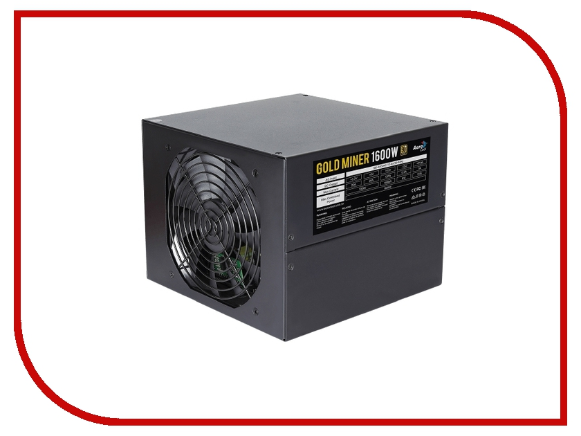 Блок питания AeroCool Gold Miner 1600W