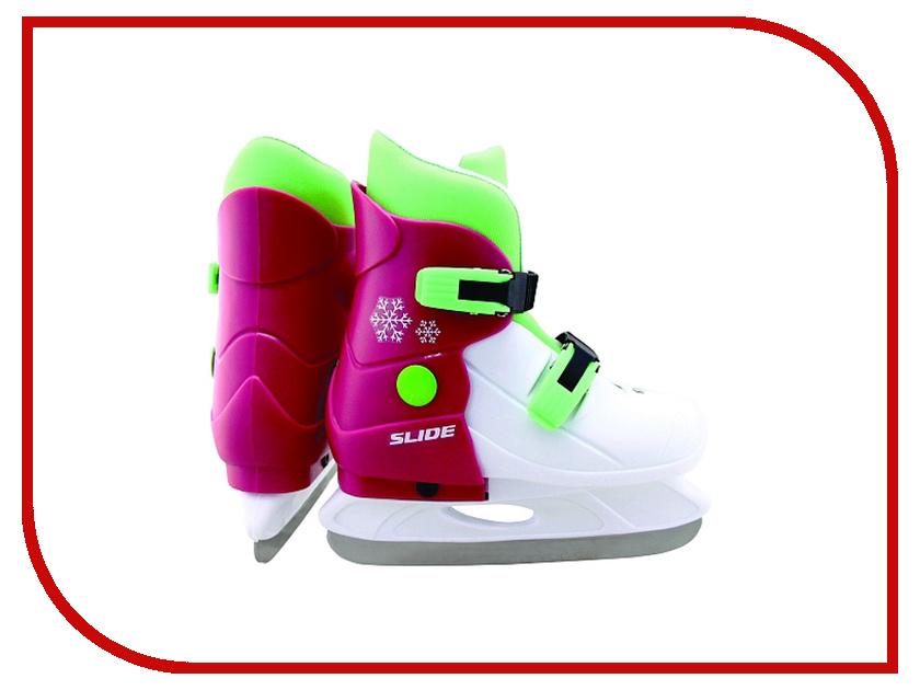Коньки Larsen Slide р.M 33-36 Pink