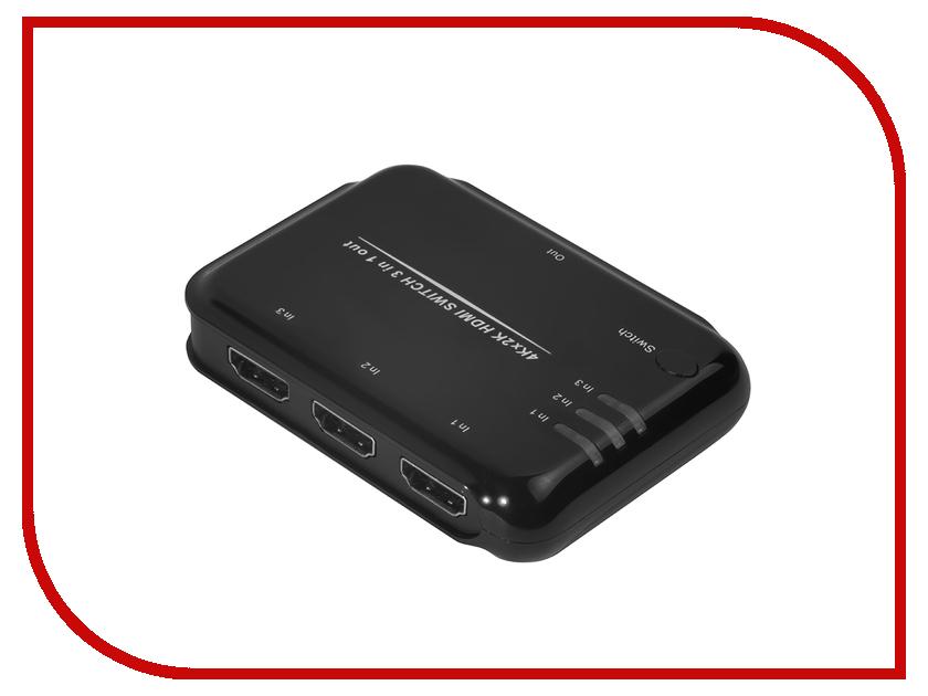 Аксессуар Greenconnect Greenline Переключатель GL-TC05 HDMI 3к1 GL-vTC05 аксессуар mystery mad gl шумоподавитель линейный