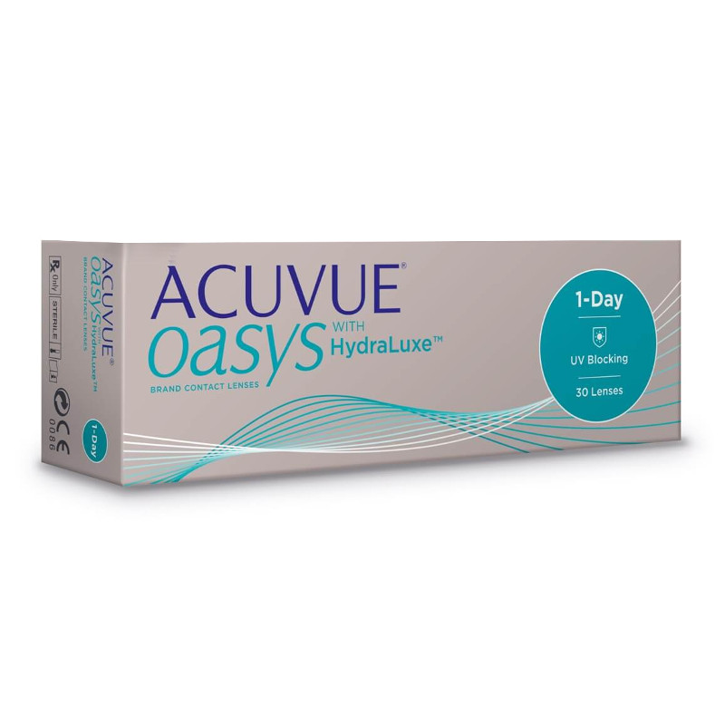 Контактные линзы Johnson & 1-Day Acuvue Oasys with HydraLuxe (30 линз / 8.5 -0.5)