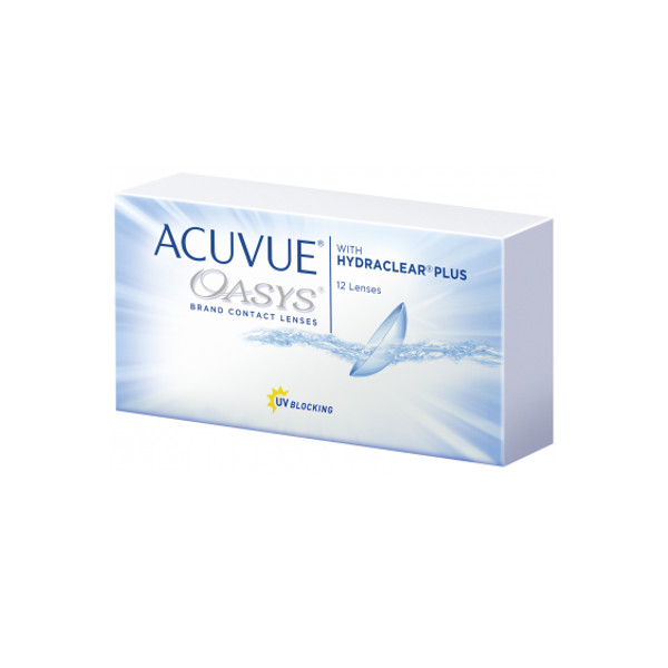 Контактные линзы Johnson & Acuvue Oasys with Hydraclear Plus (12 линз / 8.4 -1.75)