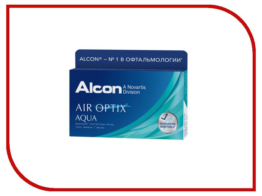 Контактные линзы Alcon Air Optix Aqua (6 линз / 8.6 / -6)