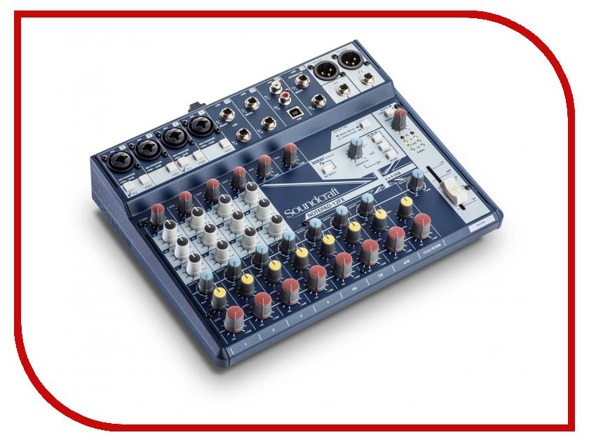 Пульт Soundcraft Notepad-12FX плата расширения soundcraft sio usb firewire
