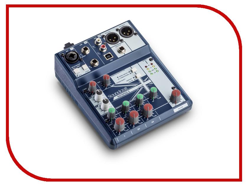 Пульт Soundcraft Notepad-5 soundcraft gigrac 600