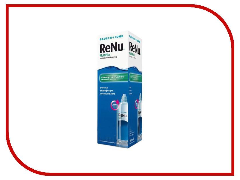 Раствор Bausch & Lomb Renu MultiPlus 360ml bausch lomb pure vision 2 6 r 8 6 d 3 5
