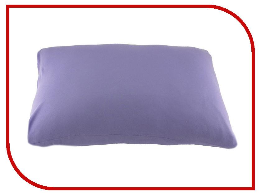 Наволочка Valtery NT 70x70-2шт Purple Трикотаж