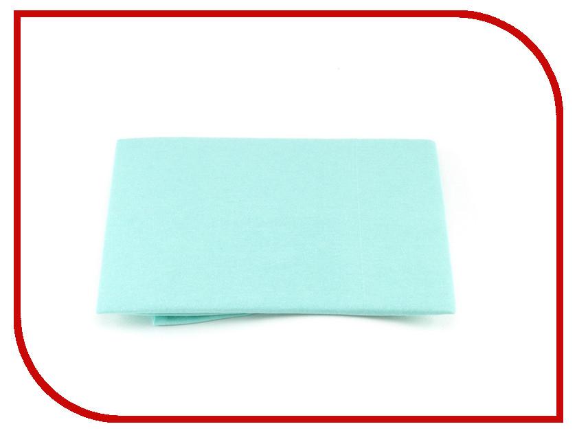 Наволочка Valtery NT 70x70-2шт Turquoise Трикотаж