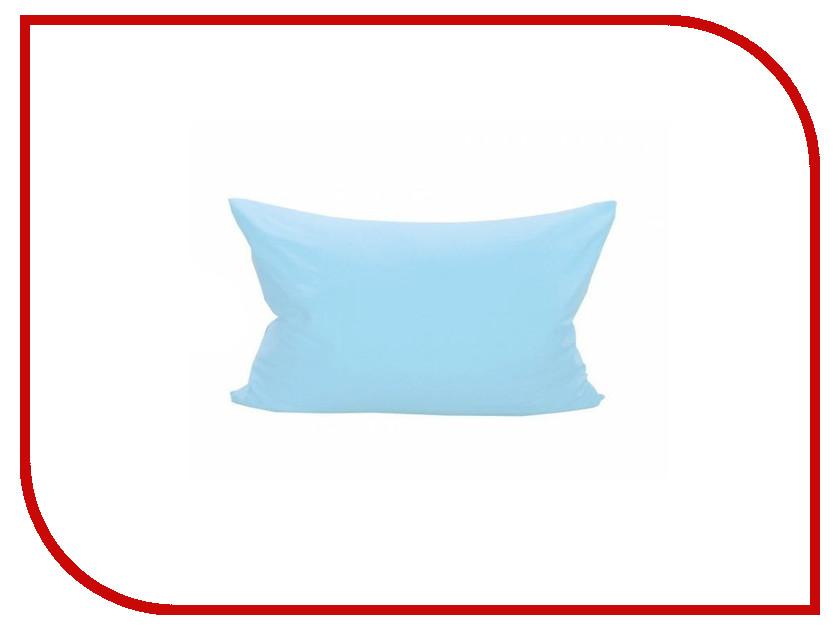 Наволочка Valtery NT 70x70-2шт Light Blue Трикотаж