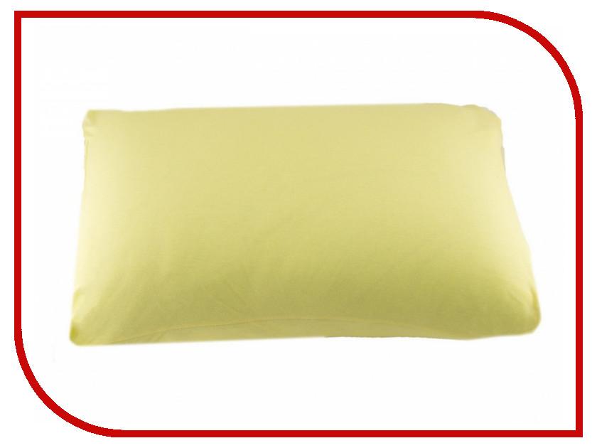Наволочка Valtery NT 50x70-2шт Yellow Трикотаж