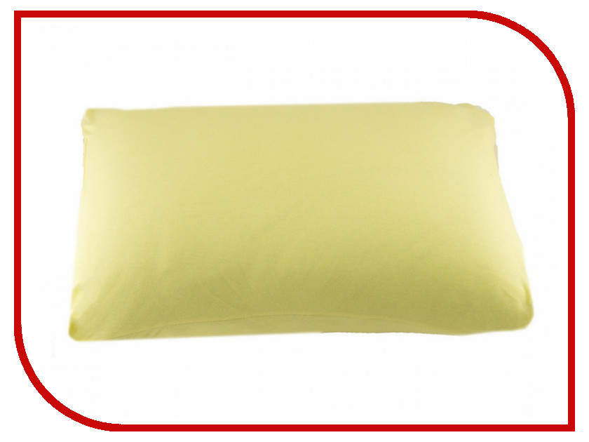 Наволочка Valtery NT 70x70-2шт Yellow Трикотаж