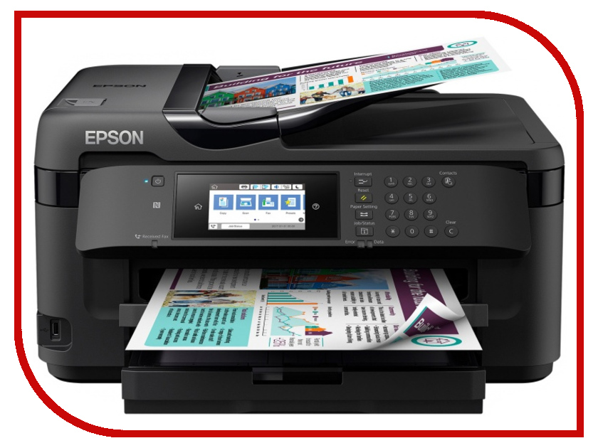 МФУ Epson WorkForce WF-7710DWF мфу epson l486