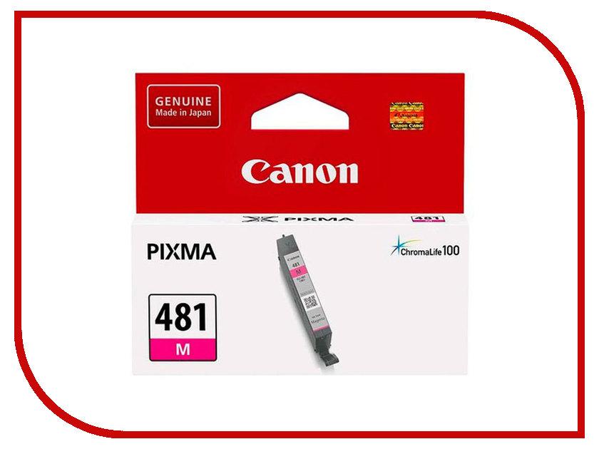 Картридж Canon CLI-481 M 2099C001 Magenta для Pixma TS6140/TS8140TS/TS9140/TR7540/TR8540 картридж canon cli 481 m для canon pixma ts6140 ts8140ts ts9140 tr7540 tr8540 пурпурный 2099c001