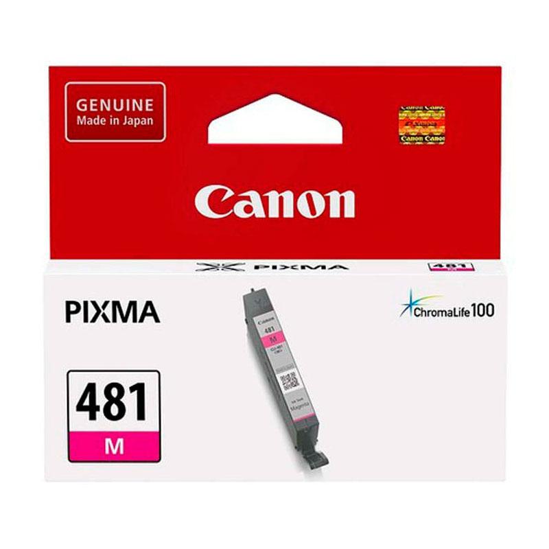 Картридж Canon CLI-481 M 2099C001 Magenta для Pixma TS6140/TS8140TS/TS9140/TR7540/TR8540