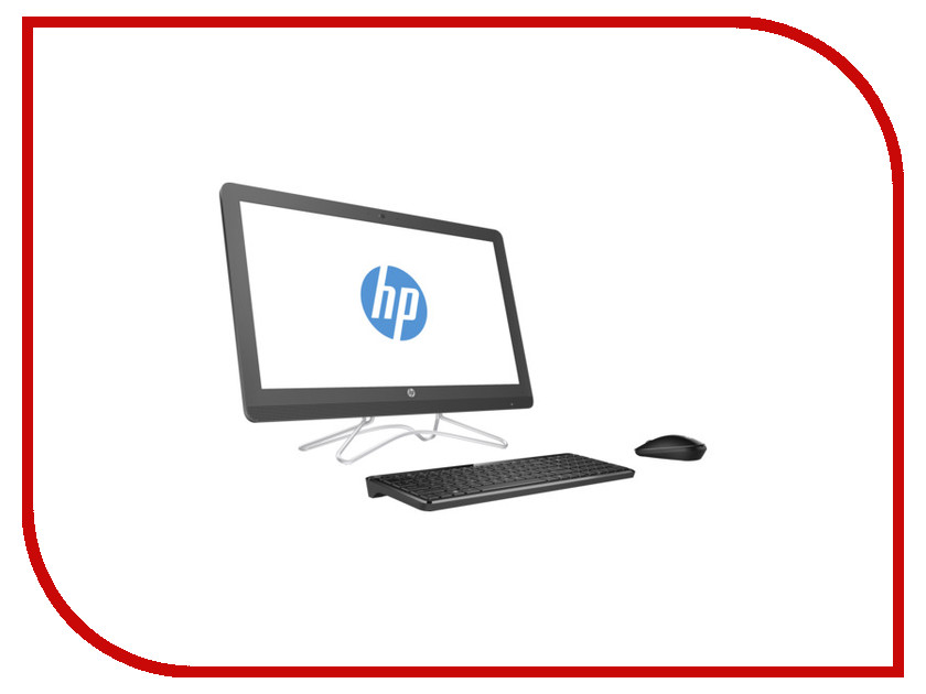Моноблок HP AIO 24-e055ur Smoke Gray 2BW48EA (Intel Core i5-7200U 2.5 GHz/4096Mb/1000Gb/DVD-RW/nVidia GeForce 920MX 2048Mb/Wi-Fi/Bluetooth/Cam/23.8/1920x1080/Windows 10 64-bit)