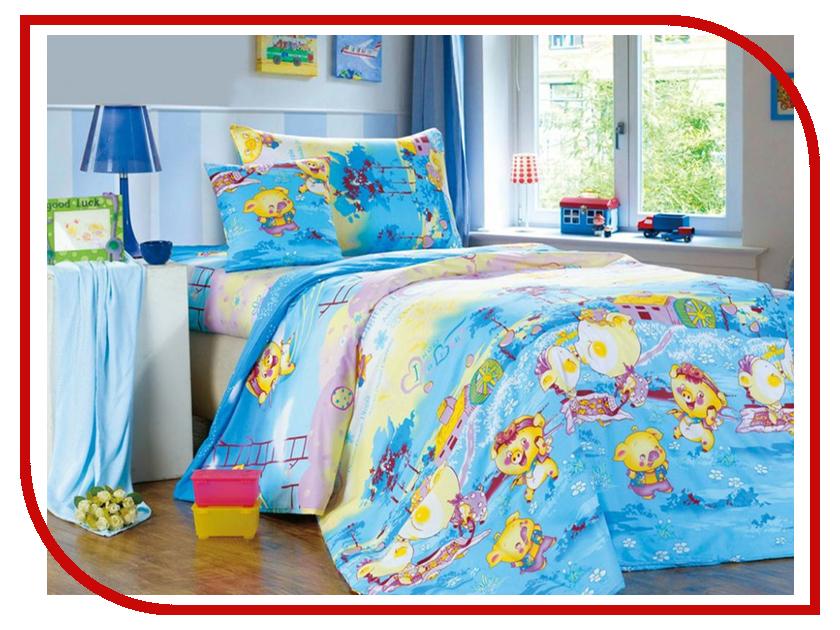 Постельное белье Сайлид С55 Комплект 1.5 спальный Поплин