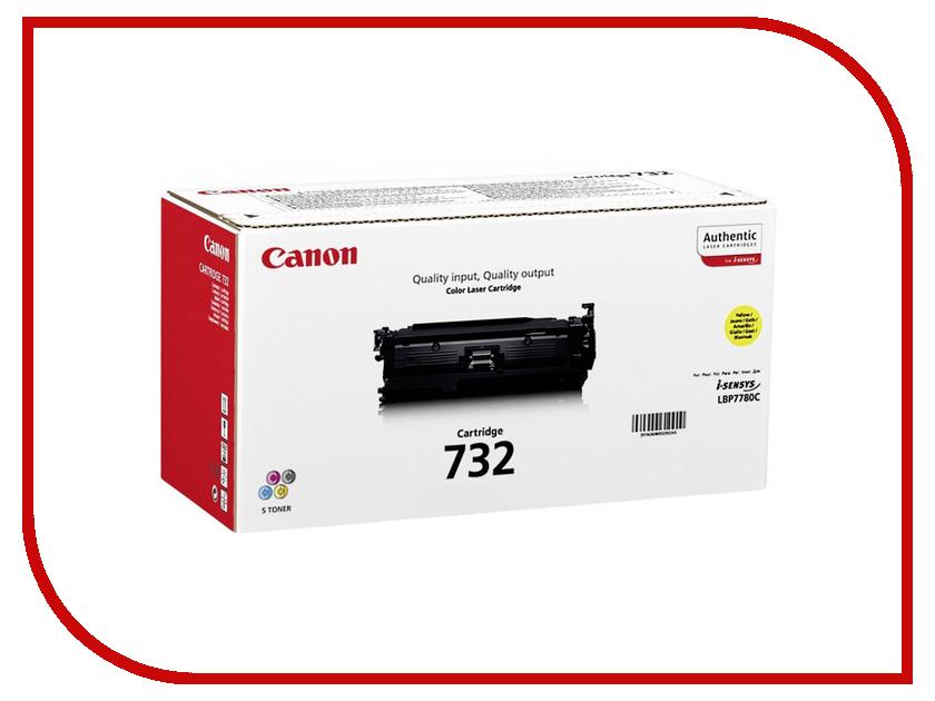 Картридж Canon 732Y 6260B002 Yellow для i-SENSYS LBP7780 принтер canon i sensys colour lbp653cdw лазерный цвет белый [1476c006]