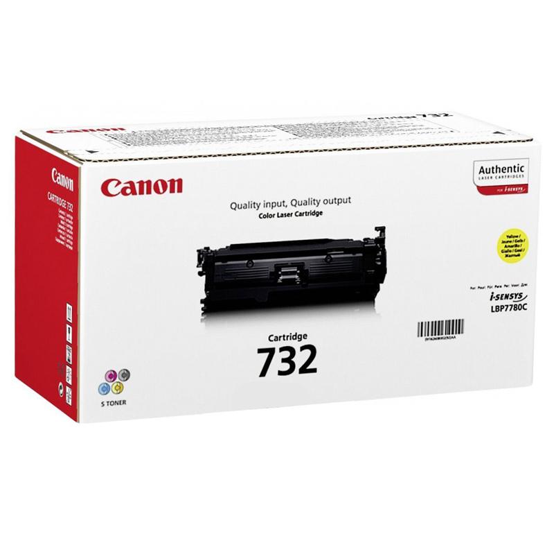 Картридж Canon 732Y 6260B002 Yellow для i-Sensys LBP7780