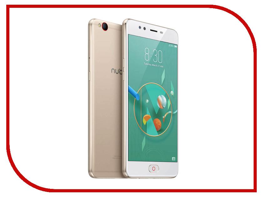 Сотовый телефон ZTE Nubia M2 Lite 32Gb RAM 4Gb Golden сотовый телефон zte r341 red