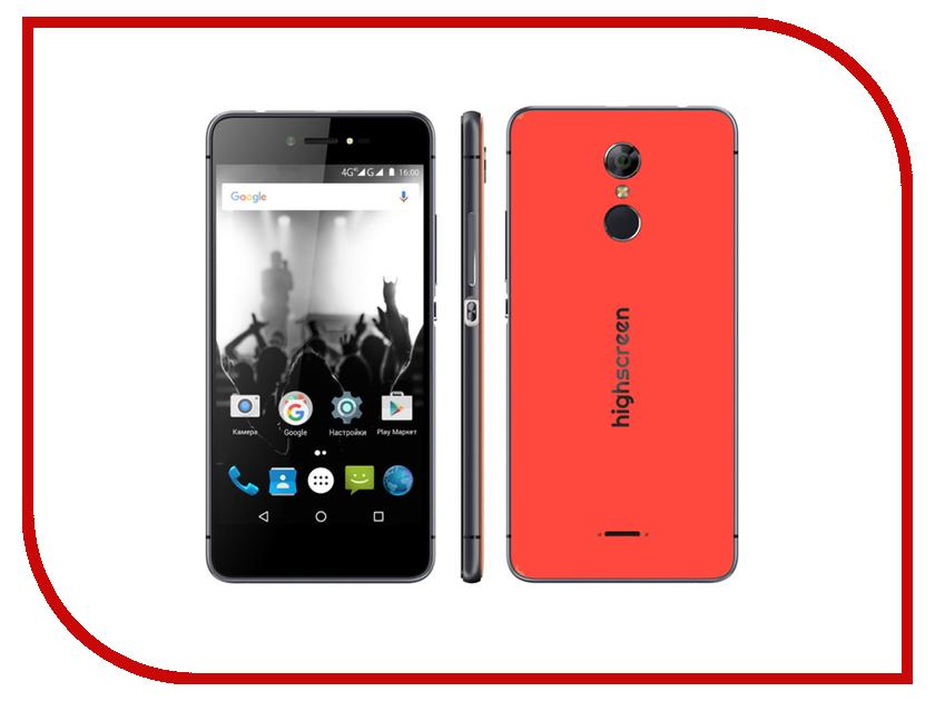 Сотовый телефон Highscreen Fest Orange сотовый телефон highscreen easy l black