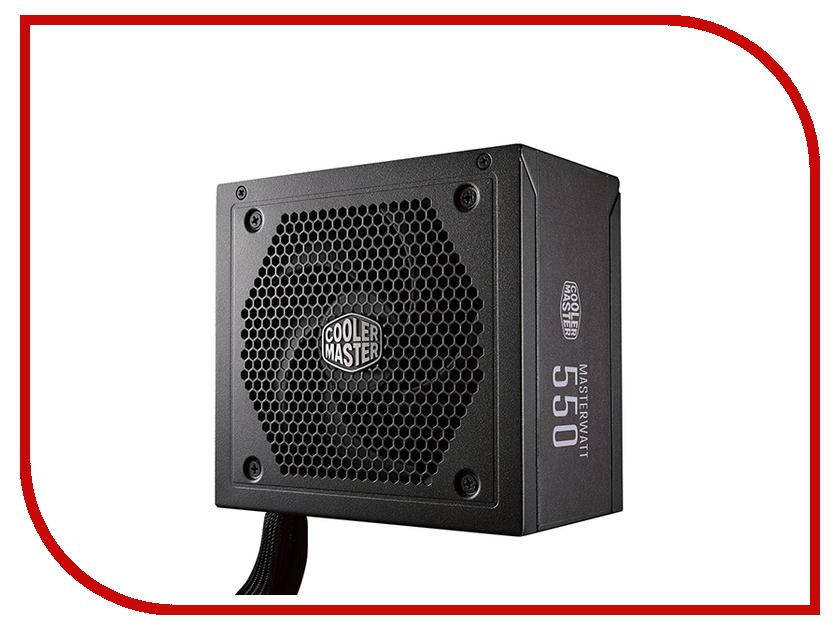 Блок питания Cooler Master MasterWatt 550W блок питания zalman zm550 xg 550w