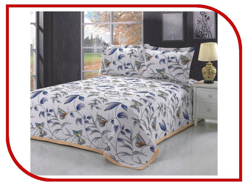 где купить Покрывало Valtery PMP-02 1.5 спальное Софткоттон по лучшей цене