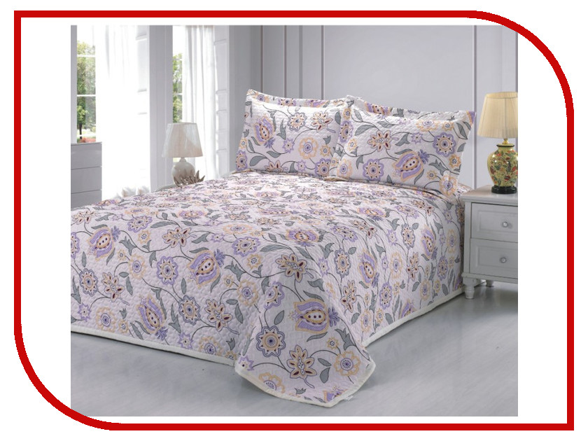 где купить Покрывало Valtery PMP-07 1.5 спальное Софткоттон по лучшей цене