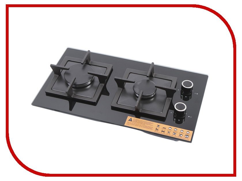 Варочная панель Fornelli PGT 30 Calore BL Black