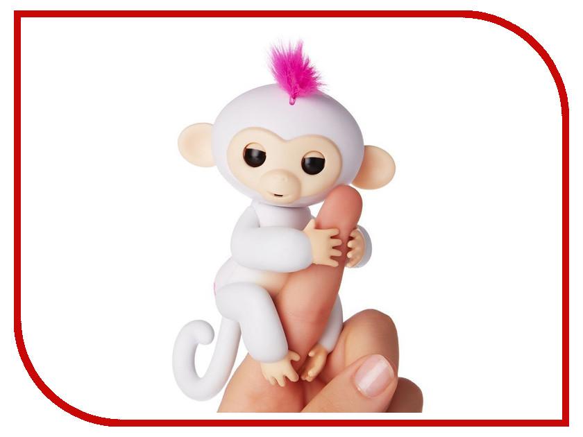 Игрушка Интерактивная обезьянка Fingerlings Baby Monkey София White