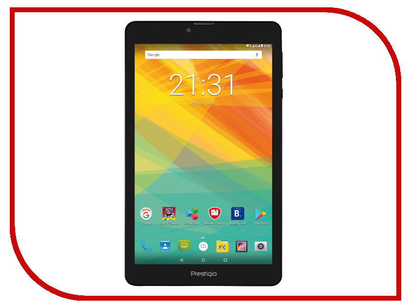Планшет Prestigio Muze PMT3718_3G_C_CIS (Quad Core 1.3 GHz/1024Mb/8Gb/GPS/3G/Wi-Fi/Bluetooth/Cam/8.0/1280x800/Android) планшет ginzzu gt 7110 black spreadtrum sc9832 1 3 ghz 1024mb 8gb gps lte 3g wi fi bluetooth cam 7 0 1280x800 android