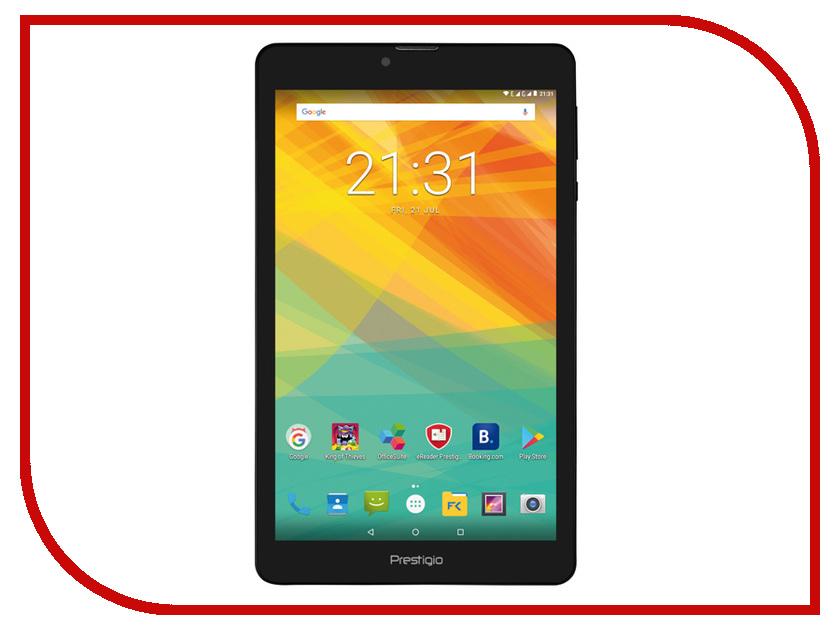 Планшет Prestigio Muze PMT3718_3G_C_CIS (Quad Core 1.3 GHz/1024Mb/8Gb/GPS/3G/Wi-Fi/Bluetooth/Cam/8.0/1280x800/Android) планшет irbis tz742 black spreadtrum sc7731g 1 3 ghz 1024mb 8gb 3g wi fi bluetooth gps cam 7 0 1280x800 android