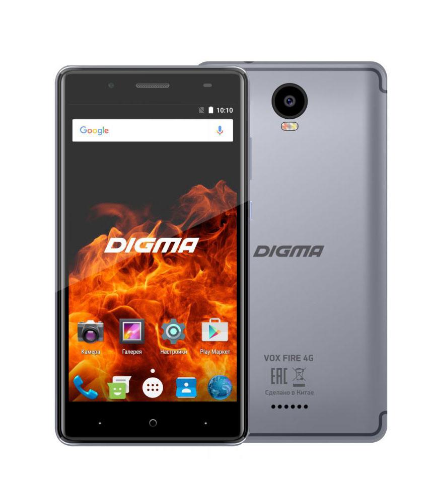 Сотовый телефон Digma VOX FIRE 4G Gray