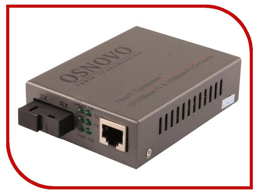 Оптический медиаконвертер Osnovo OMC-100-11S5b 100