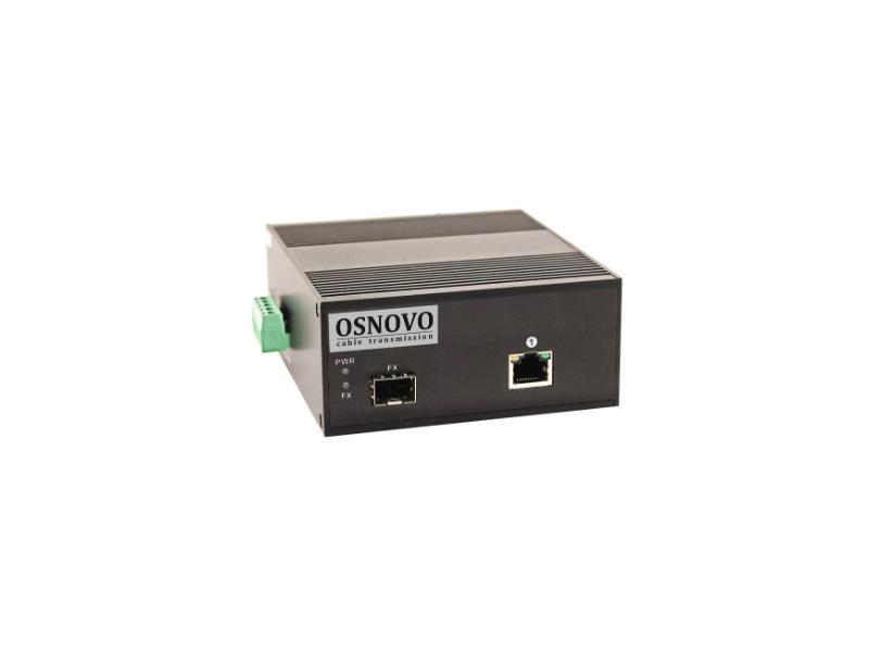 цена на Оптический медиаконвертер Osnovo OMC-1000-11HX/I