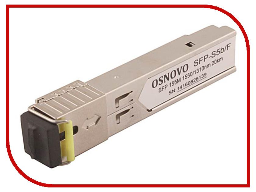 SFP модуль Osnovo SFP-S5b/F