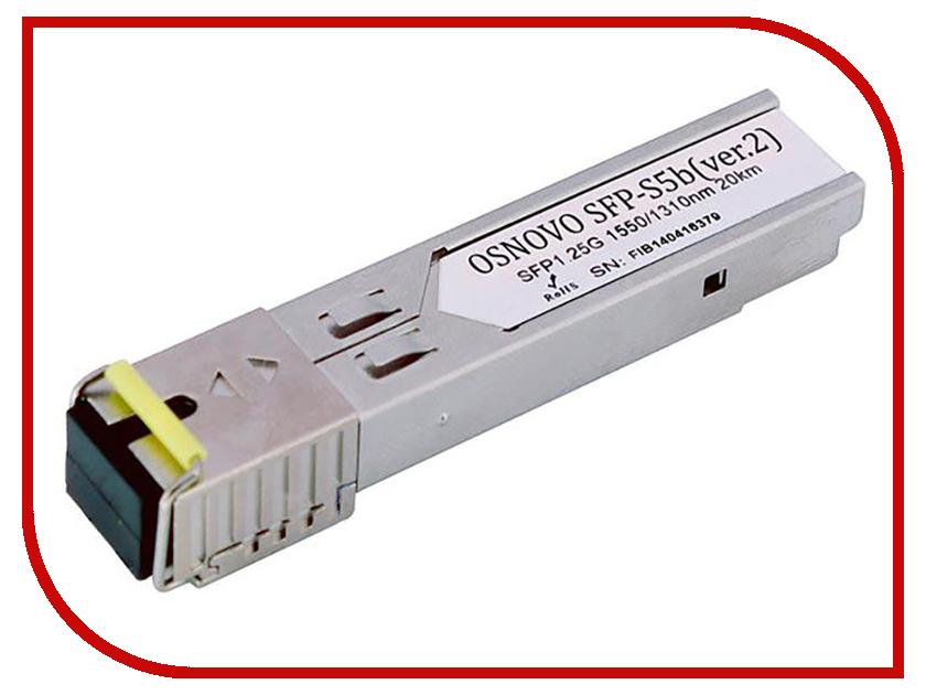 SFP модуль Osnovo SFP-S5b ver.2