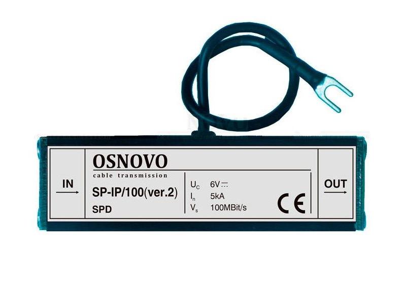 Устройство грозозащиты Osnovo SP-IP/100 ver.2