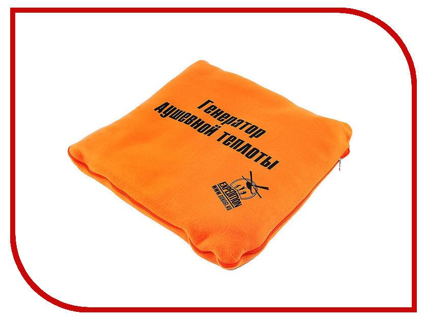 Плед Экспедиция Нам вместе теплее ESAA-002 Orange