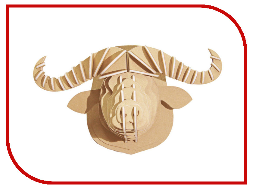 3D-пазл Expetro Голова Африканского Буйвола 10631 3d пазл expetro голова благородного оленя 10640