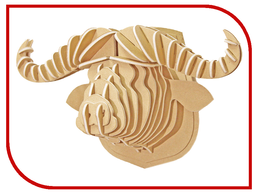 3D-пазл Expetro Голова Африканского Буйвола 10706 3d пазл expetro голова африканского буйвола 10706