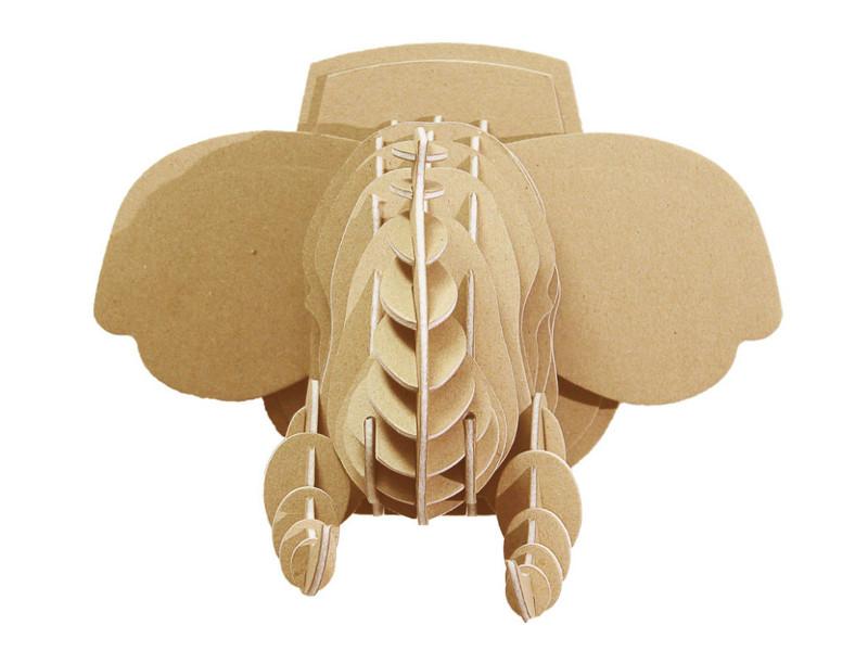 3D-пазл Expetro Голова Африканского Слона 10703