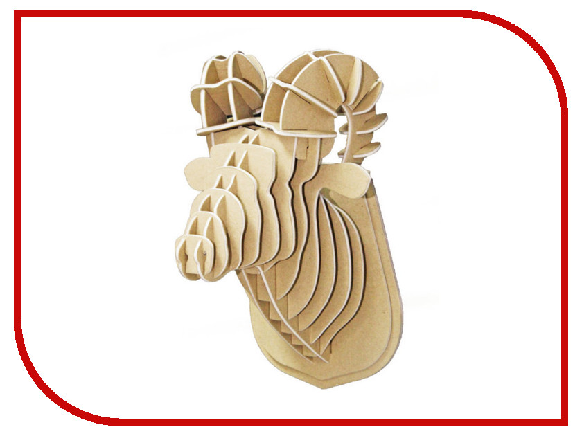 3D-пазл Expetro Голова Снежного Барана 10704 3d пазл expetro голова африканского буйвола 10706