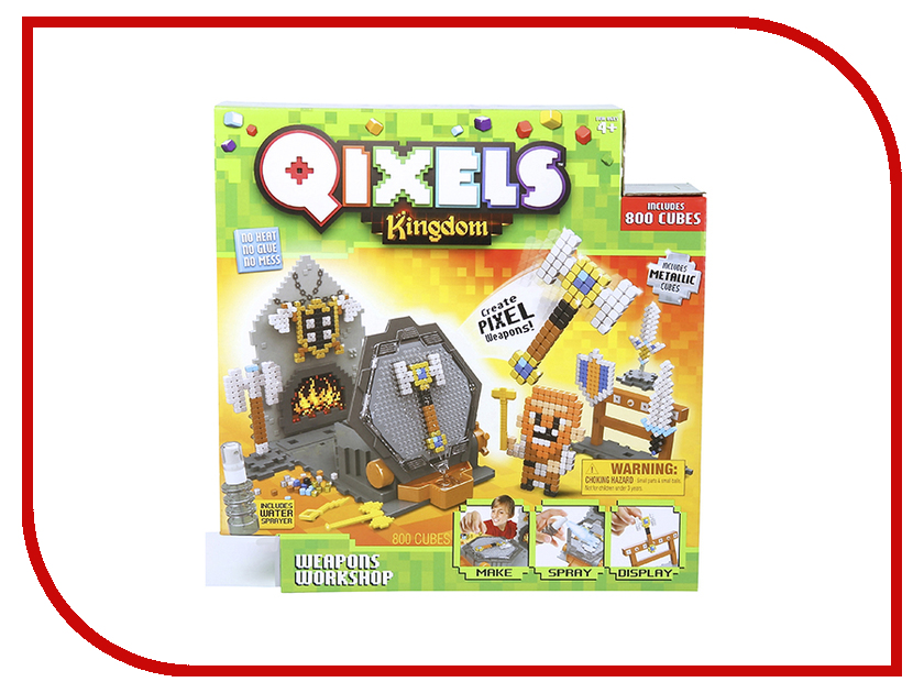 Набор Qixels Королевство Оружейная мастерская 87027 мастерская
