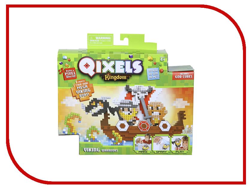 Настольная игра Qixels Королевство Викинги 87036 qixels 87036 квикселс набор для творчества королевство